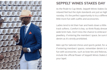 Stakes Day Fashion Style Guide